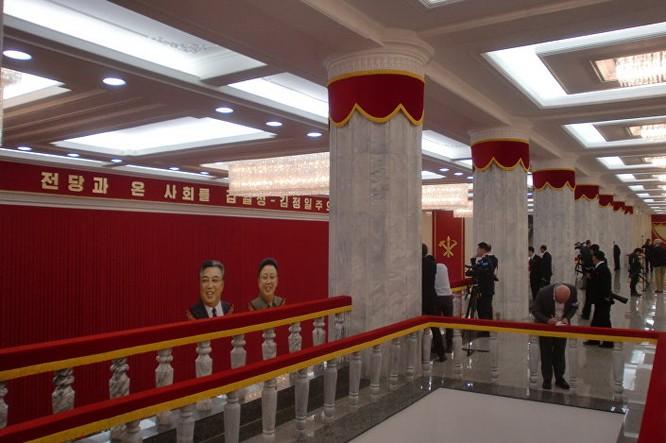 Triều Tiên: Không khí sôi động ngày bầu Chủ tịch Đảng Lao động ảnh 4