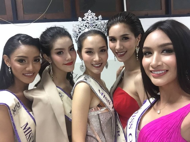 Vẻ đẹp 'vạn người mê' của Tân Hoa hậu chuyển giới Thái Lan ảnh 4