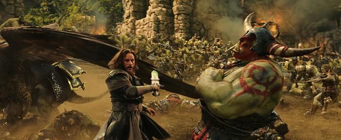 Video: Tiết lộ cảnh chiến đấu mãn nhãn giữa Orc và Human trong Warcraft ảnh 6