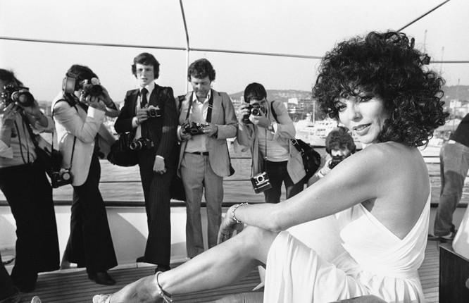 Nữ diễn viên Joan Collins,1979