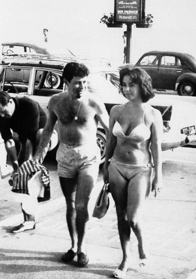 Ca sĩ Eddie Fisher và nữ diễn viên Elizabeth Taylor, 1959