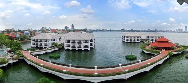 Phòng tổng thống có view đẹp nhất Hà Nội ảnh 1