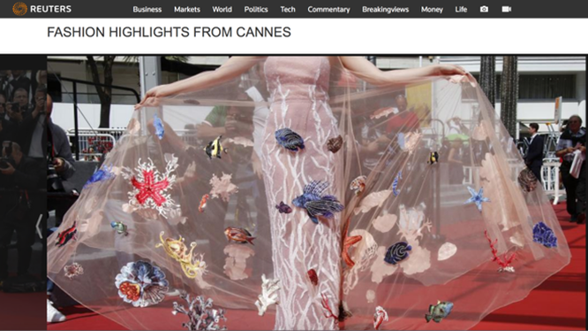 Bóc mẽ màn tỏa sáng tại Cannes của các sao châu Á ảnh 2