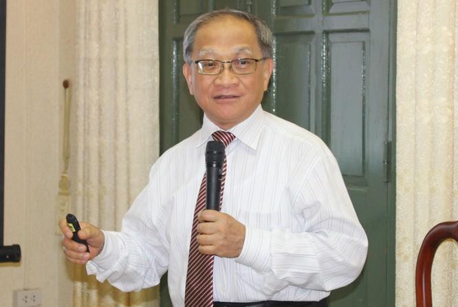 TS Lê Đăng Doanh phát biểu tại hội thảo. Ảnh: Đình Khương