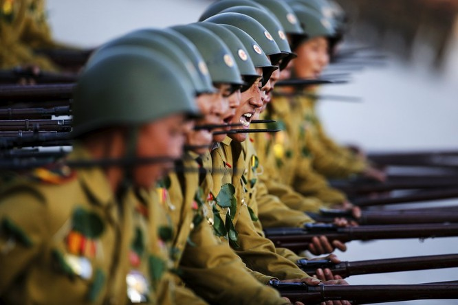 Sức mạnh của quân đội Triều Tiên ảnh 4