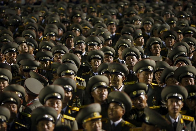 """North Korea's military is called the """"Korean people's army"""" or the KPA."""
