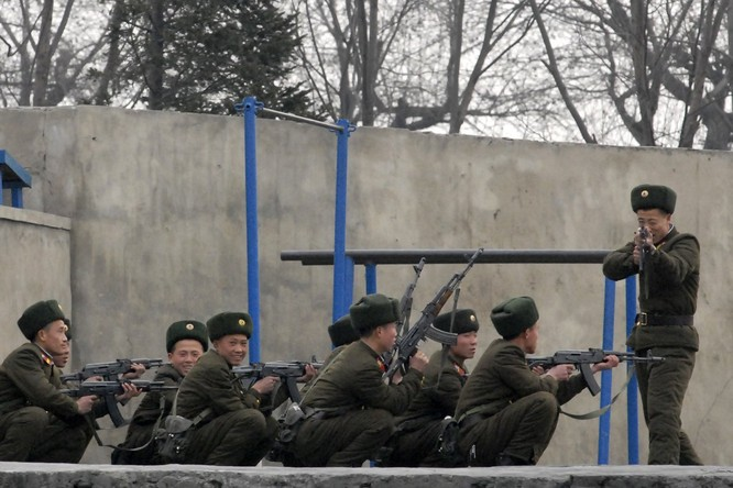 Sức mạnh của quân đội Triều Tiên ảnh 22