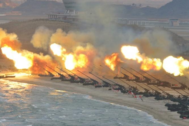 Sức mạnh của quân đội Triều Tiên ảnh 17