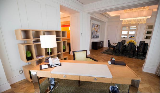 Phòng Nguyên thủ Tổng thống Obama lưu trú tại TP.HCM có gì đặc biệt? ảnh 4
