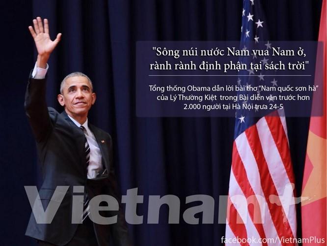 """8 câu nói """"để đời"""" trong bài phát biểu của Tổng thống Obama ảnh 1"""