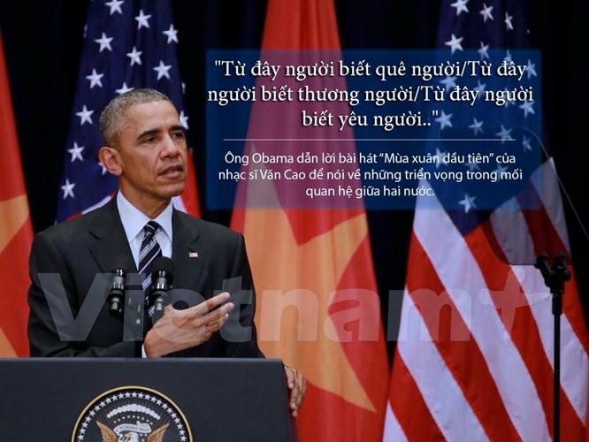 """8 câu nói """"để đời"""" trong bài phát biểu của Tổng thống Obama ảnh 2"""