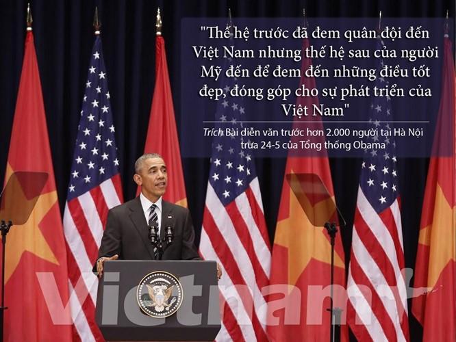 """8 câu nói """"để đời"""" trong bài phát biểu của Tổng thống Obama ảnh 3"""