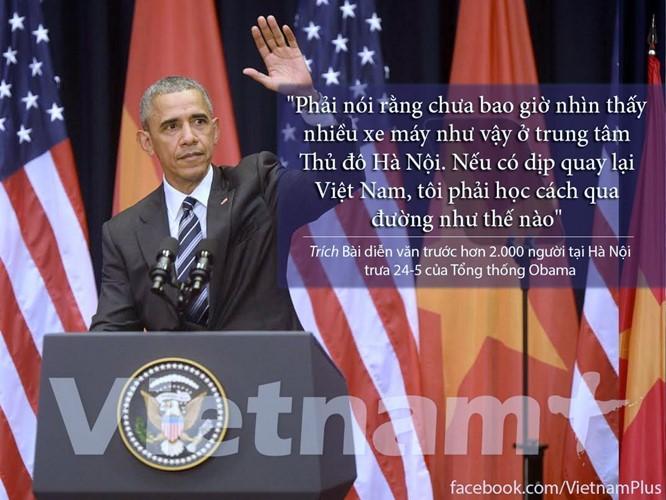 """8 câu nói """"để đời"""" trong bài phát biểu của Tổng thống Obama ảnh 5"""