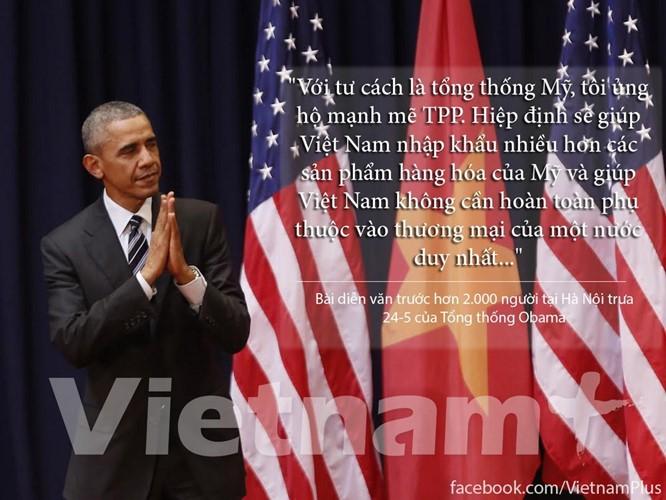 """8 câu nói """"để đời"""" trong bài phát biểu của Tổng thống Obama ảnh 6"""