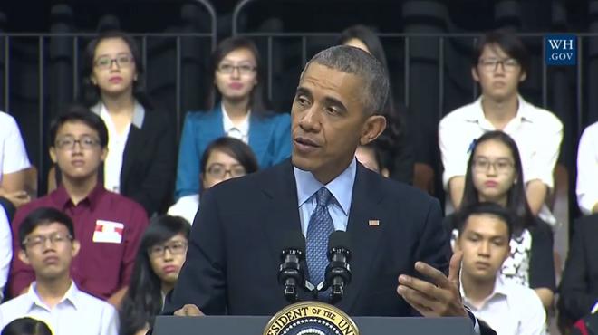 """Tổng thống Obama: """"Hồi trẻ tôi cũng ham chơi, bồ bịch"""" ảnh 4"""
