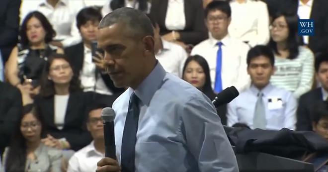 """Tổng thống Obama: """"Hồi trẻ tôi cũng ham chơi, bồ bịch"""" ảnh 3"""