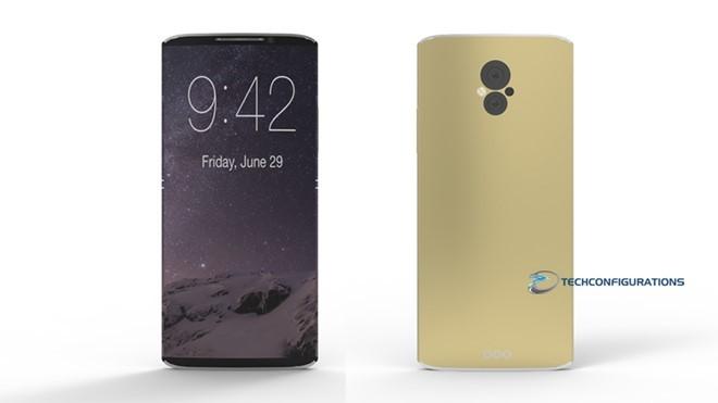 iPhone 8 có màn hình cong, camera đôi? ảnh 1