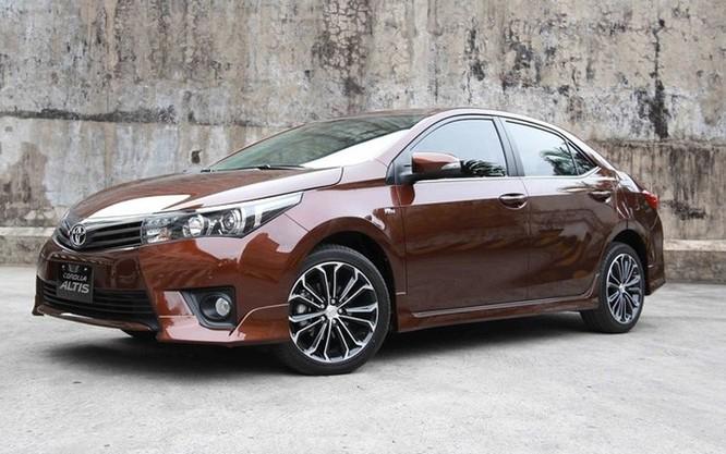Toyota Altis (Ảnh: Người lao động)