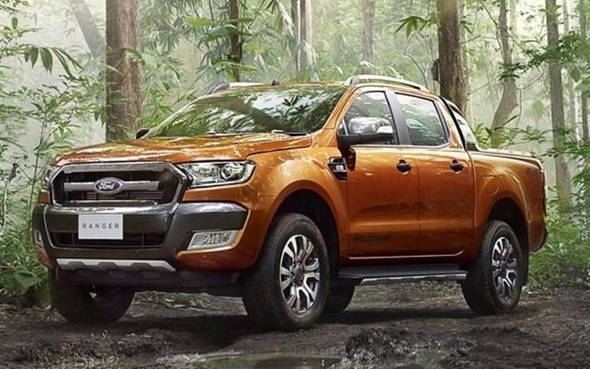 Ford Ranger (Ảnh: Tintuc.vn)