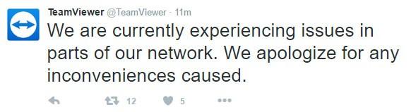 Teamviewer lại sập trên toàn thế giới vì bị hack? ảnh 1