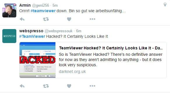 Teamviewer lại sập trên toàn thế giới vì bị hack? ảnh 2