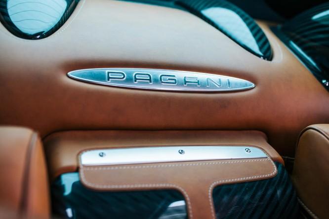 Mãn nhãn nội thất Pagani Huayra giá 78 tỷ đồng ảnh 13