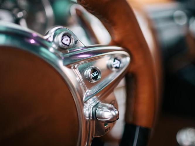 Mãn nhãn nội thất Pagani Huayra giá 78 tỷ đồng ảnh 17