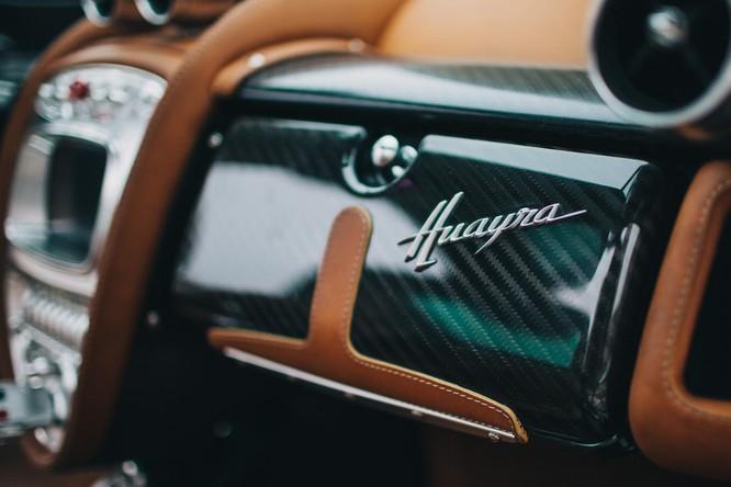 Mãn nhãn nội thất Pagani Huayra giá 78 tỷ đồng ảnh 11