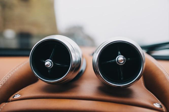 Mãn nhãn nội thất Pagani Huayra giá 78 tỷ đồng ảnh 20