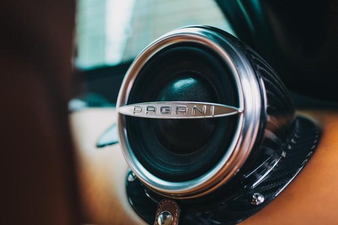 Mãn nhãn nội thất Pagani Huayra giá 78 tỷ đồng ảnh 10