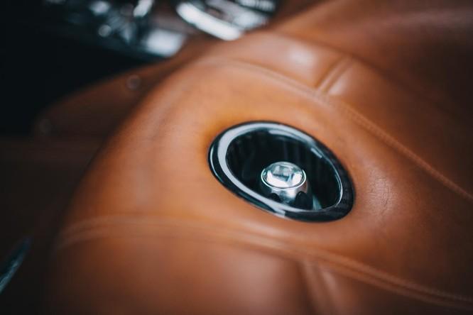Mãn nhãn nội thất Pagani Huayra giá 78 tỷ đồng ảnh 14