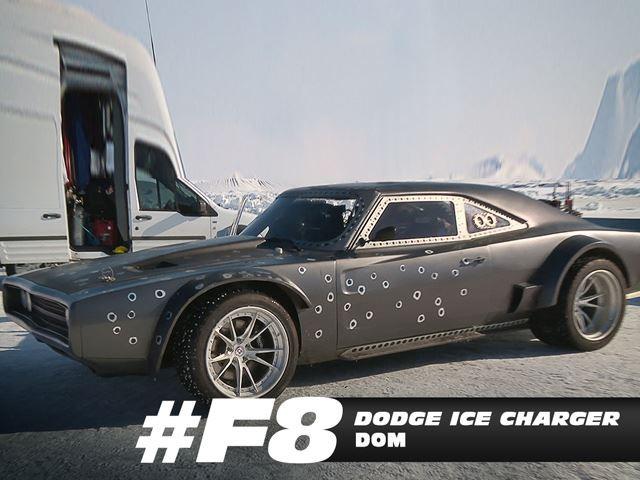 Phát sốt với chùm xế của Fast and Furious 8 ảnh 3