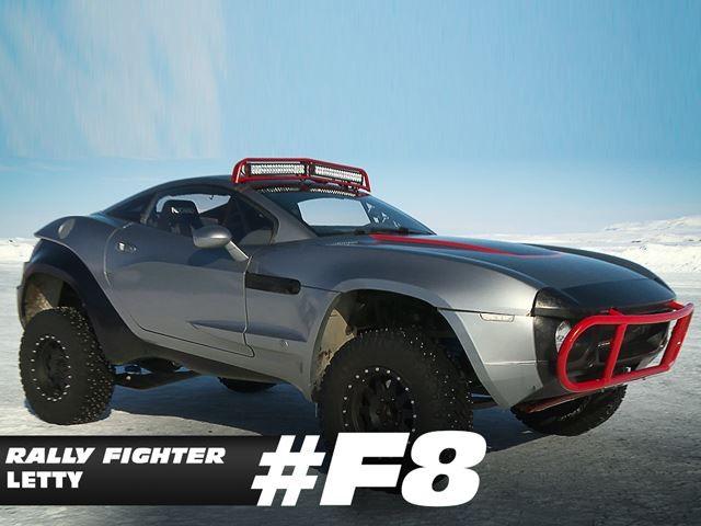 Phát sốt với chùm xế của Fast and Furious 8 ảnh 1