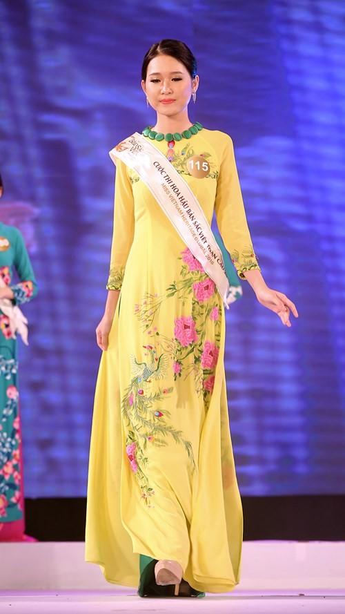 Ngắm dàn người đẹp trong đêm bán kết Hoa hậu Bản sắc Việt ảnh 2