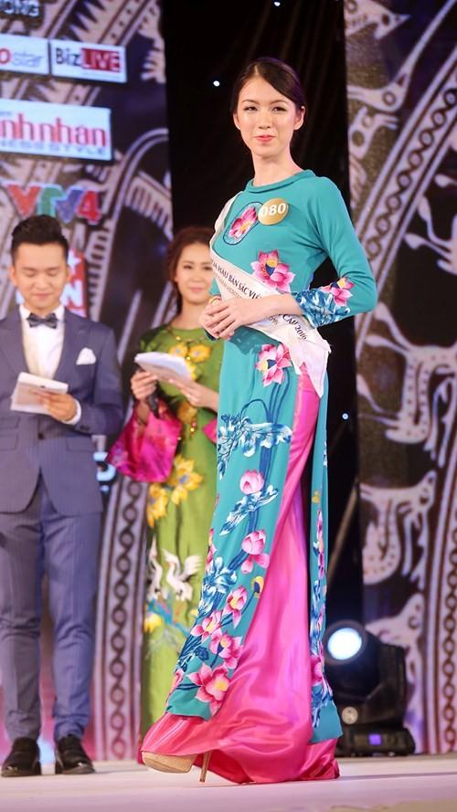 Ngắm dàn người đẹp trong đêm bán kết Hoa hậu Bản sắc Việt ảnh 1