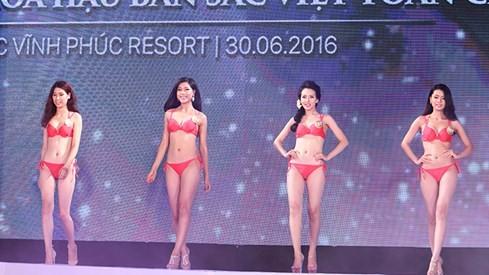 Ngắm dàn người đẹp trong đêm bán kết Hoa hậu Bản sắc Việt ảnh 3