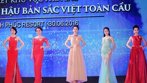 Ngắm dàn người đẹp trong đêm bán kết Hoa hậu Bản sắc Việt ảnh 5