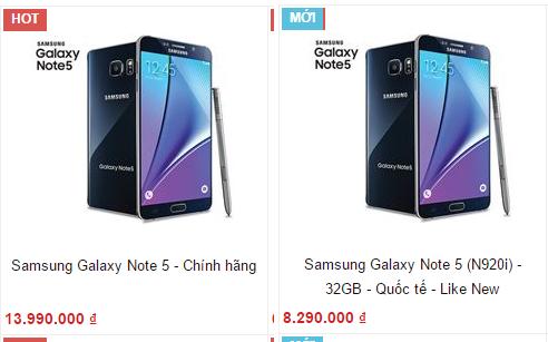 Vì sao smartphone Android cao cấp xách tay luôn rẻ? ảnh 3