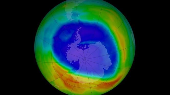 """Lỗ hổng tầng Ozon đang """"lành"""" lại sau 30 năm ảnh 1"""