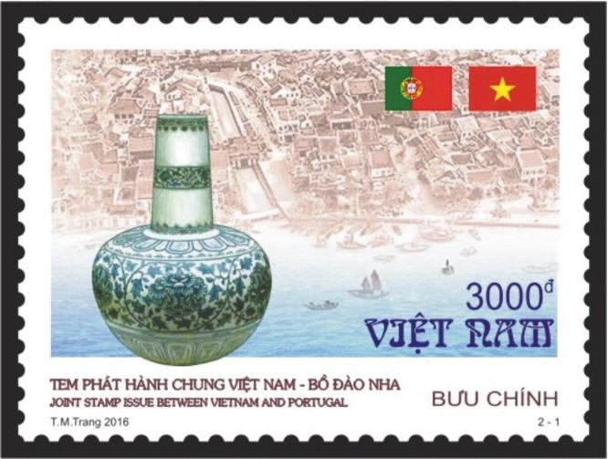 """Phát hành đặc biệt bộ """"Tem phát hành chung Việt Nam – Bồ Đào Nha"""" ảnh 1"""