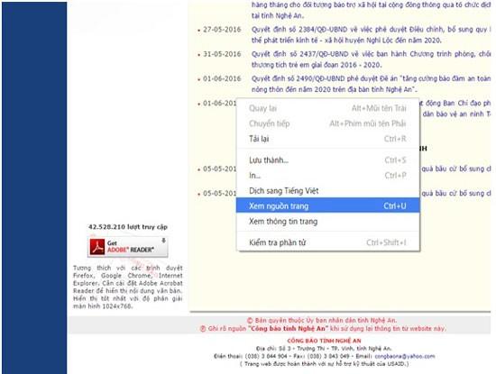 Phát hiện nhiều website cơ quan nhà nước bị chèn link ẩn ảnh 4