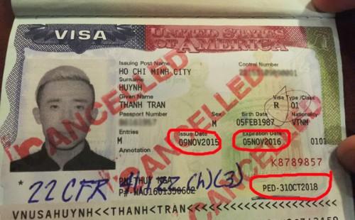 Những điều nằm lòng khi xin visa Mỹ để tránh rủi ro như MC Trấn Thành (video) ảnh 1