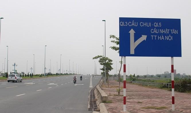 Bắt đầu từ ngã tư giao cắt với đường Võ Văn Kiệt (đối diện Khu công nghiệp Thăng Long, xã Kim Chung) đến ngã tư chân cầu vượt đường Võ Nguyên Giáp.