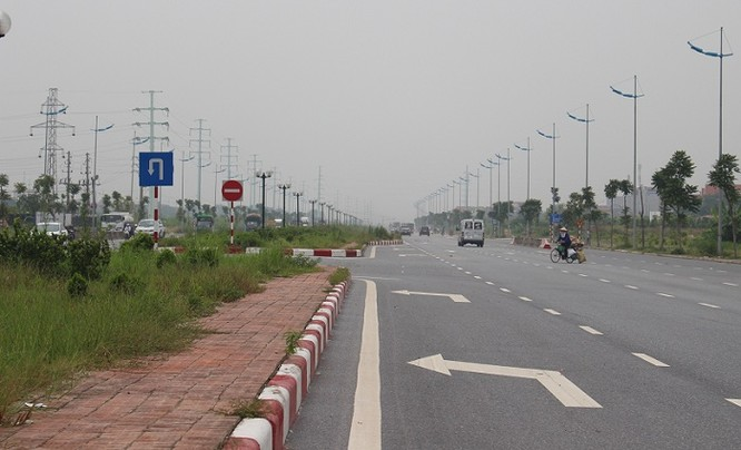 Bắt đầu từ ngã tư giao cắt cầu vượt đường Võ Nguyên Giáp (thôn Ngọc Chi, xã Vĩnh Ngọc) đến chân cầu Đông Trù (xã Đông Hội).