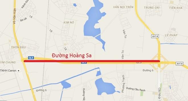 Cận cảnh 2 con đường sẽ mang tên Trường Sa và Hoàng Sa tại Hà Nội ảnh 1