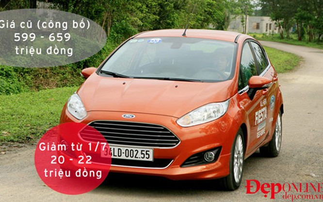 Ngoài mức giá giảm trên, hầu hết các đại lý của Ford Việt Nam khuyến mại trực tiếp trên giá bán cho khách hàng trong tháng 7, với mức khoảng 30 triệu đồng
