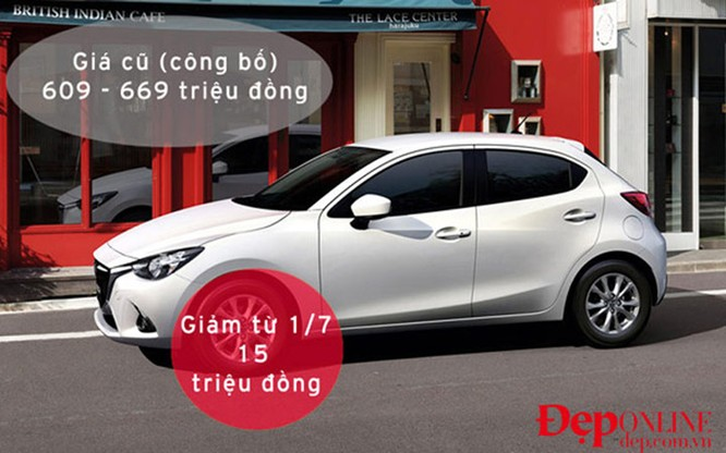 Mẫu xe Mada2 cũng được giảm giá mạnh