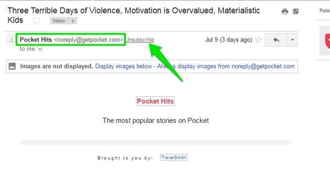 """3 cách """"né"""" email quảng cáo trên Gmail ảnh 1"""