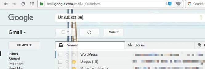 """3 cách """"né"""" email quảng cáo trên Gmail ảnh 3"""