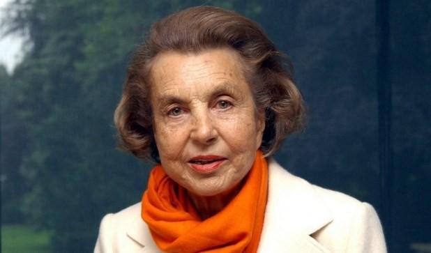 Liliane Bettencourt- nữ doanh nhân 92 tuổi, người Pháp với khối tài sản 388 tỷ USD.